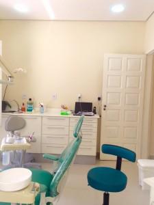 sala de atendimento dentista