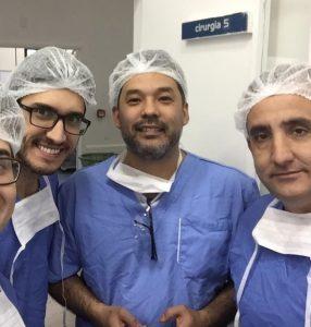 Cirurgião Marcus Kasaya